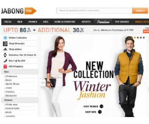 Jabong.com is an Indian fashion and lifestyle 40% to 80% OFF.