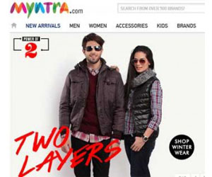 Myntra.Com is providing Flat 70% off..