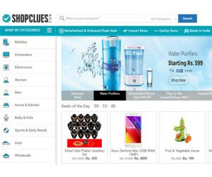 ShopClues is a great online shopping site headquartered in Gurgaon,India.